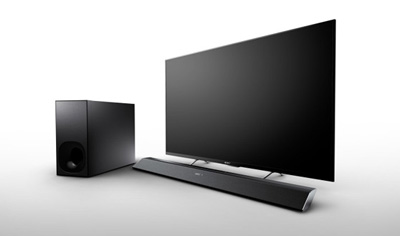 The Sony HT-CT780 Sound Bar & wireless subwoofer