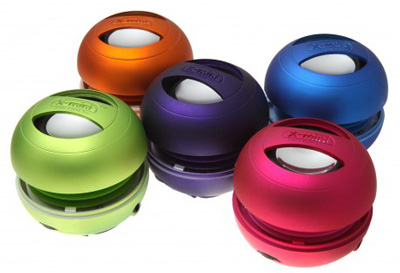 X-mini II Capsule Speaker 2nd Gen in multiple colours